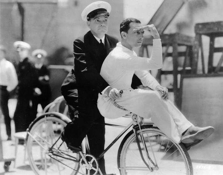 Cliff Edwards et Buster Keaton 1931